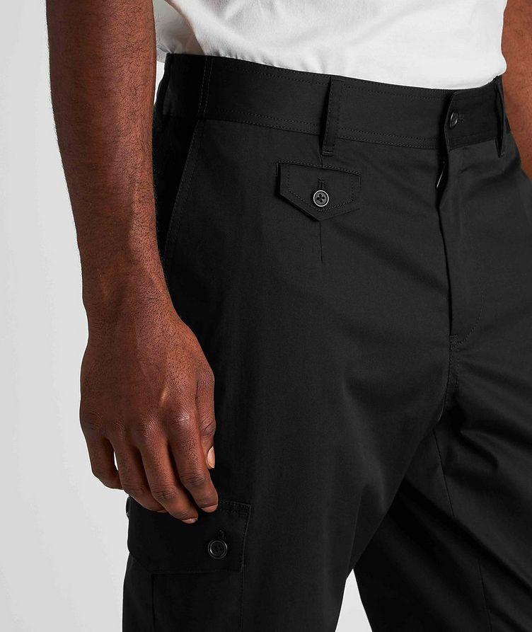 Pantalon en coton extensible à poches cargo image 3
