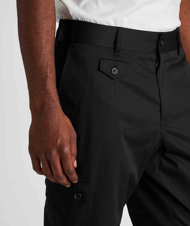 Pantalon en coton extensible à poches cargo picture 4