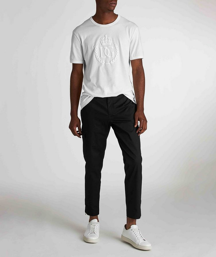Pantalon en coton extensible à poches cargo image 5