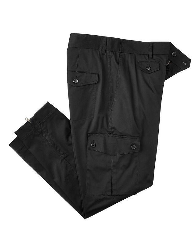 Pantalon en coton extensible à poches cargo picture 1
