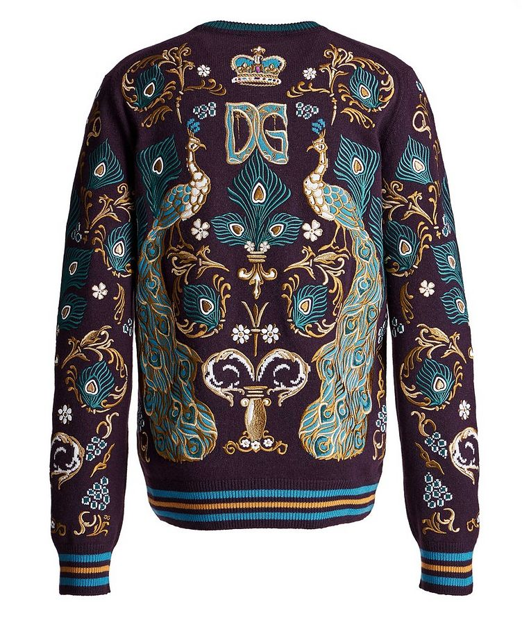 Embroidered Cashmere Sweater image 1