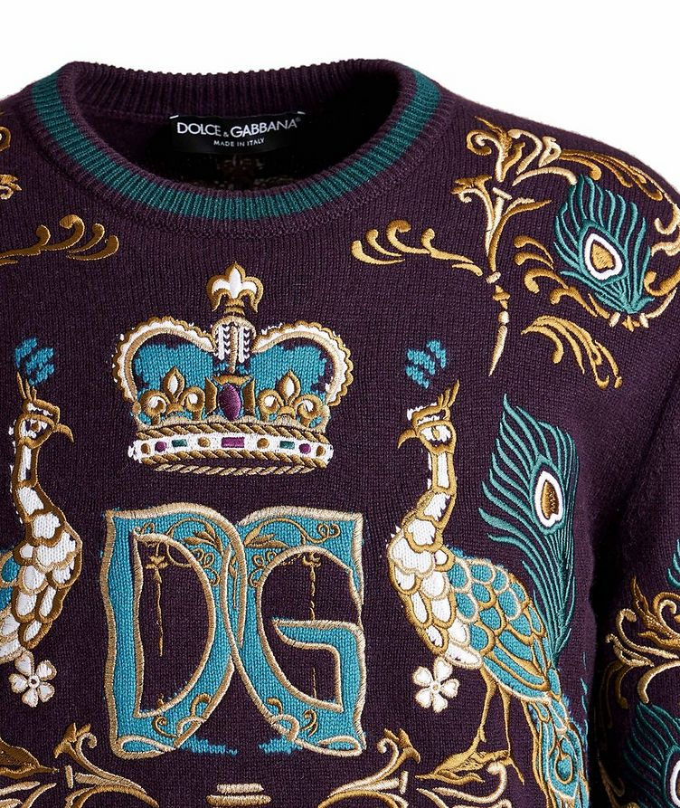 Embroidered Cashmere Sweater image 2