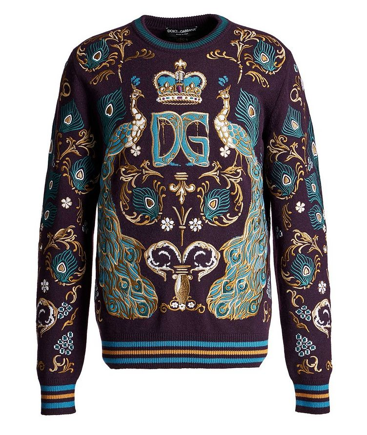 Embroidered Cashmere Sweater image 0