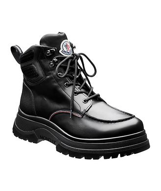 Moncler Ulderic Leather Boots
