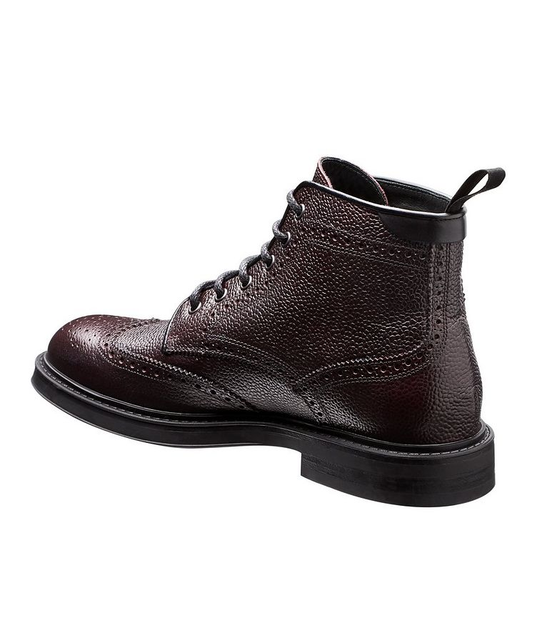 Leather Brogue Boots image 1