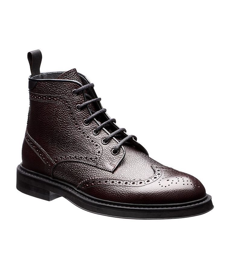 Leather Brogue Boots image 0