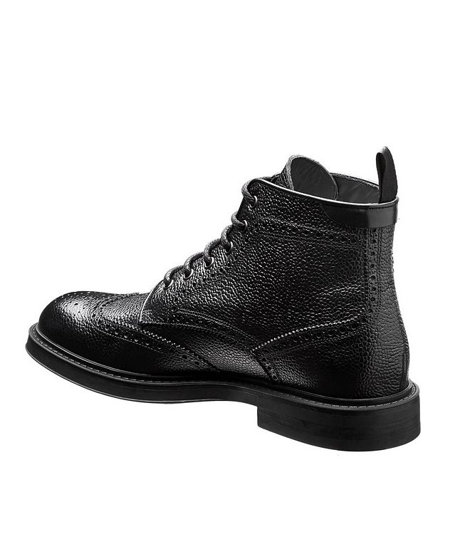 Leather Brogue Boots  picture 2