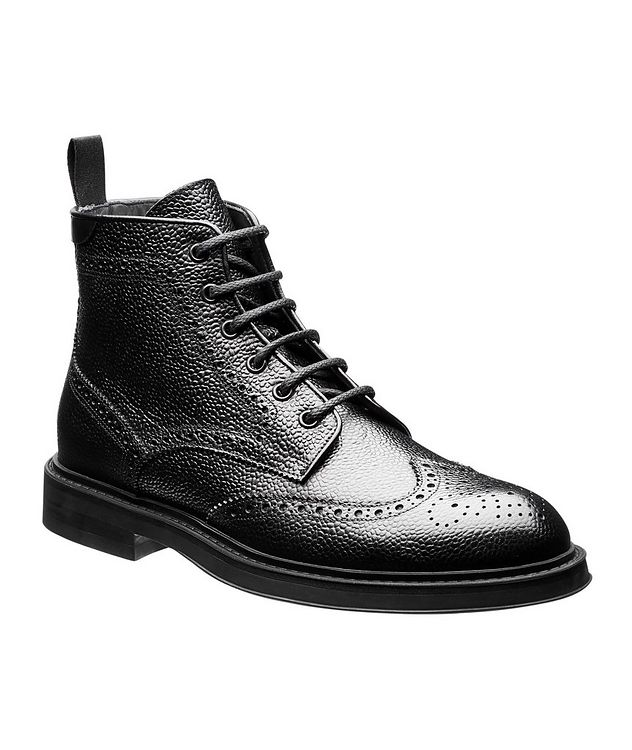 Leather Brogue Boots  picture 1