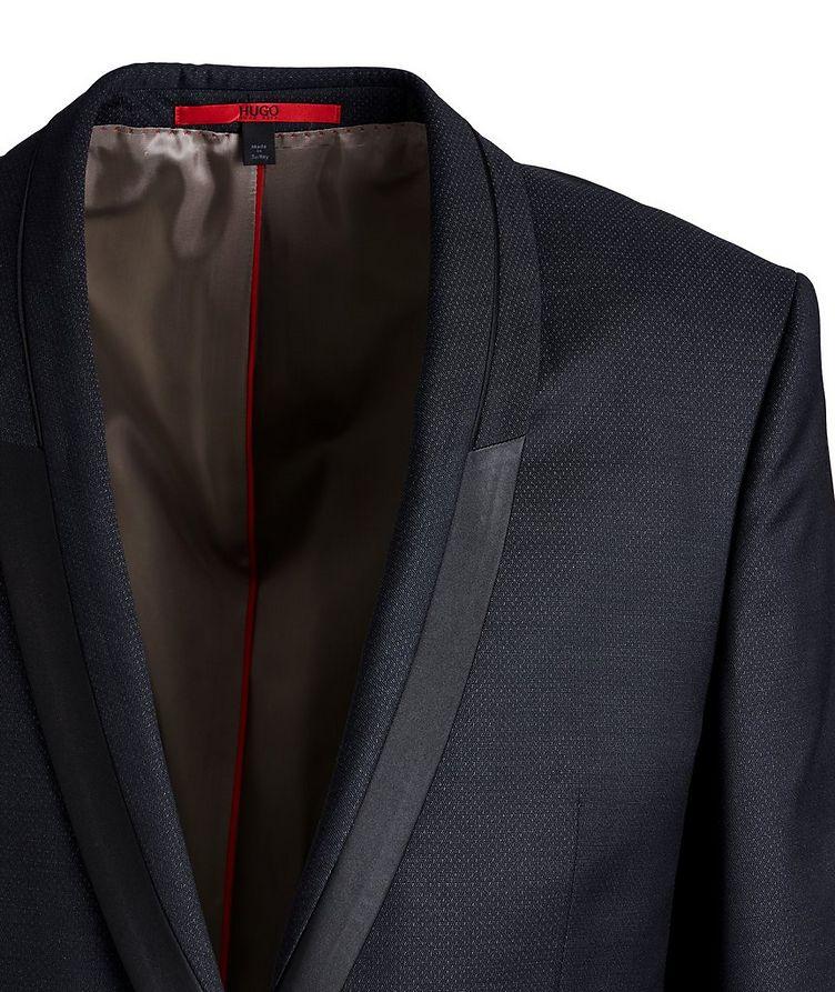 Slim-Fit Wool-Silk Tuxedo Jacket image 1