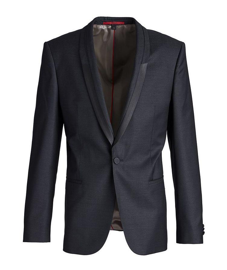 Slim-Fit Wool-Silk Tuxedo Jacket image 0