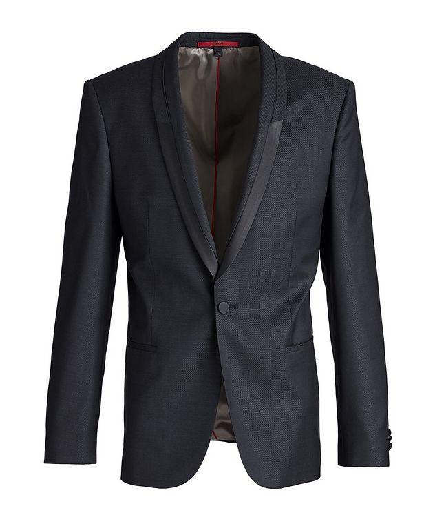 Slim-Fit Wool-Silk Tuxedo Jacket picture 1