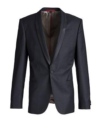 HUGO Slim-Fit Wool-Silk Tuxedo Jacket