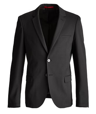 HUGO Anfred204 Stretch-Wool Sports Jacket