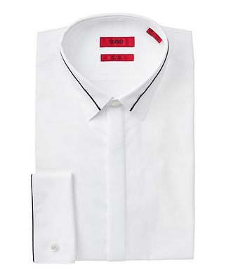 HUGO Slim Fit Striped Dress Shirt