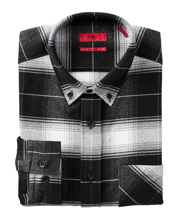 Chemise en flanelle de coton à motif quadrillé picture 1