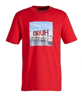 HUGO Dus Graphic Print T-Shirt