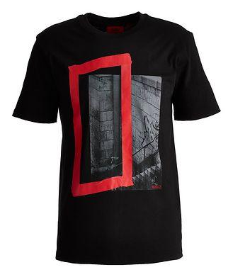 HUGO Graphic Organic Cotton T-Shirt