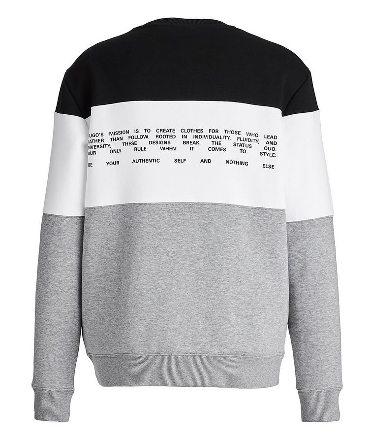 Organic Cotton-Blend Sweatshirt image 1