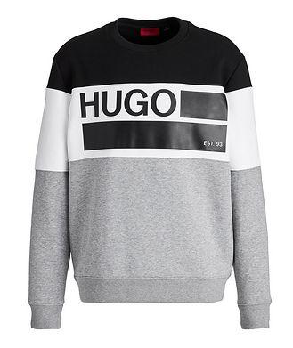 HUGO Organic Cotton-Blend Sweatshirt
