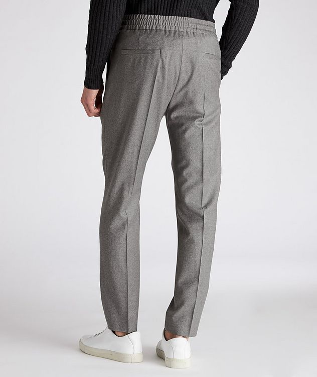 Drawstring Stretch-Wool Pants picture 2