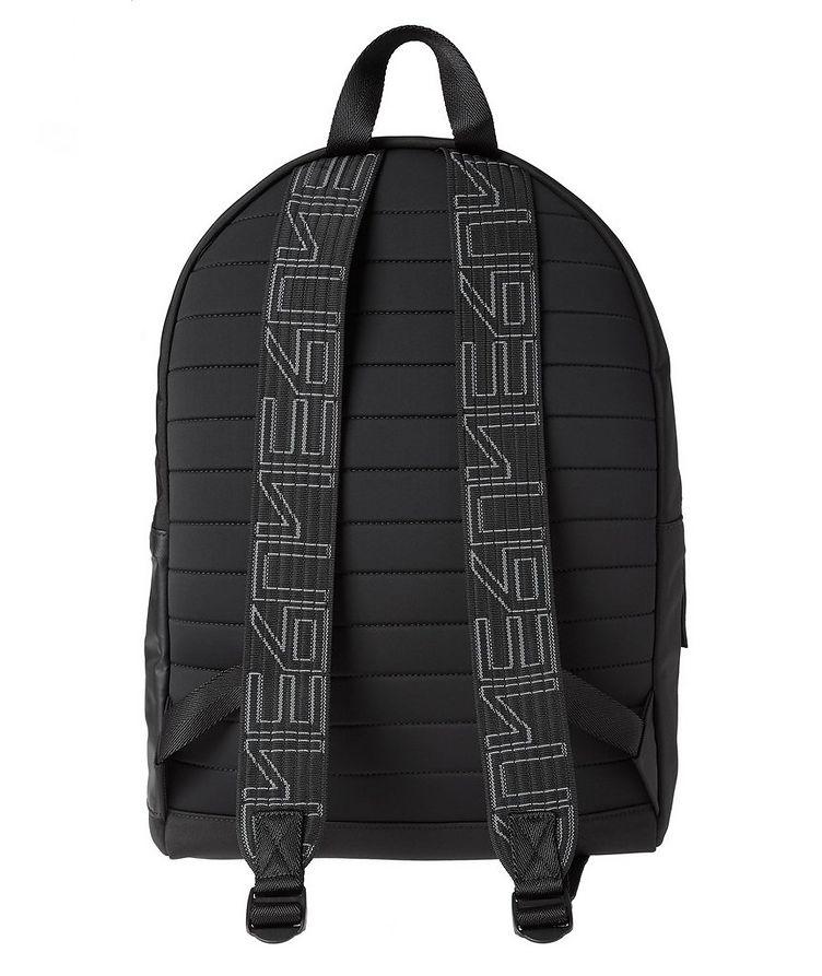 Structured Nylon Backpack image 1