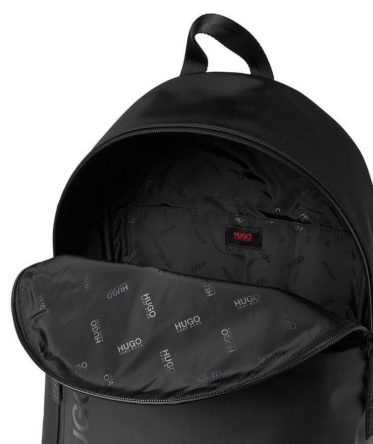 Structured Nylon Backpack image 2