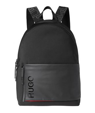 HUGO Structured Nylon Backpack