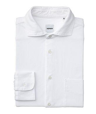 Aspesi Chemise en jersey de coton
