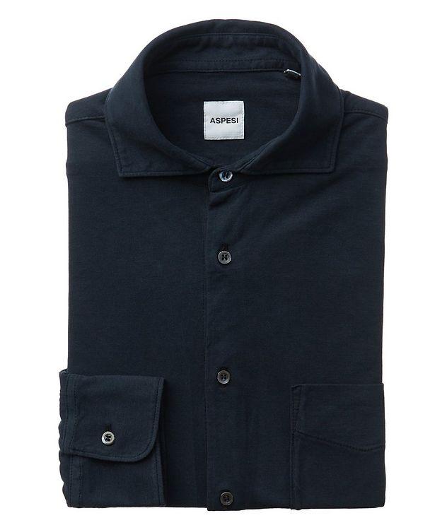 Slim-Fit Cotton Shirt picture 1