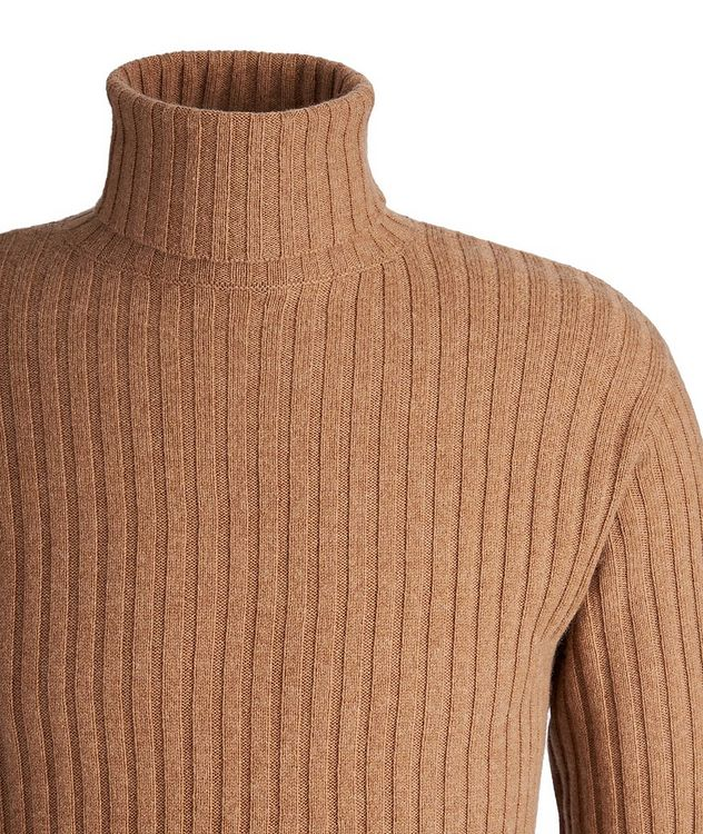 Wool, Yak, and Cashmere Turtleneck  picture 3