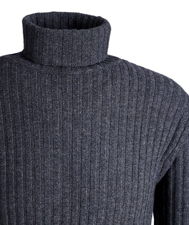 Wool, Yak, and Cashmere Turtleneck picture 2