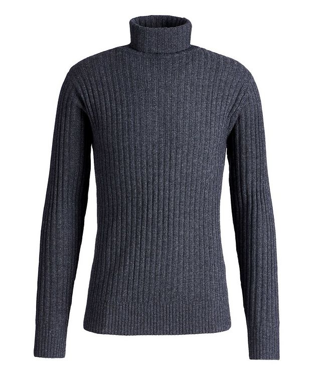 Wool, Yak, and Cashmere Turtleneck picture 1
