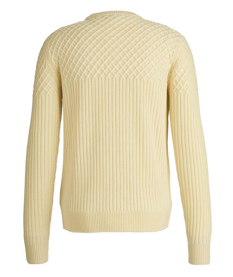 Fisherman's Knit Wool Sweater image 1