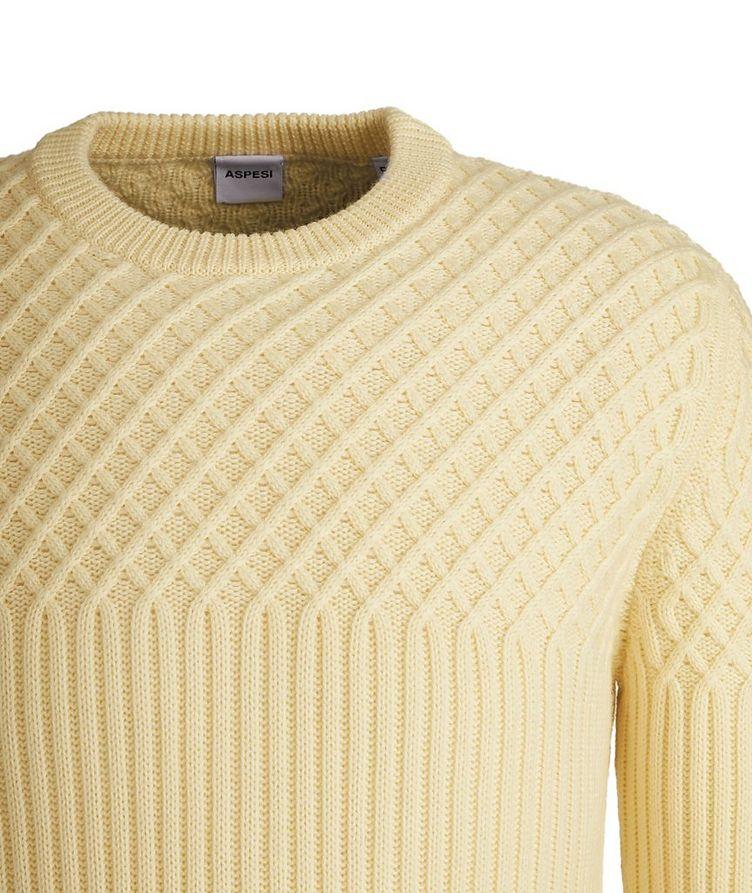 Fisherman's Knit Wool Sweater image 2