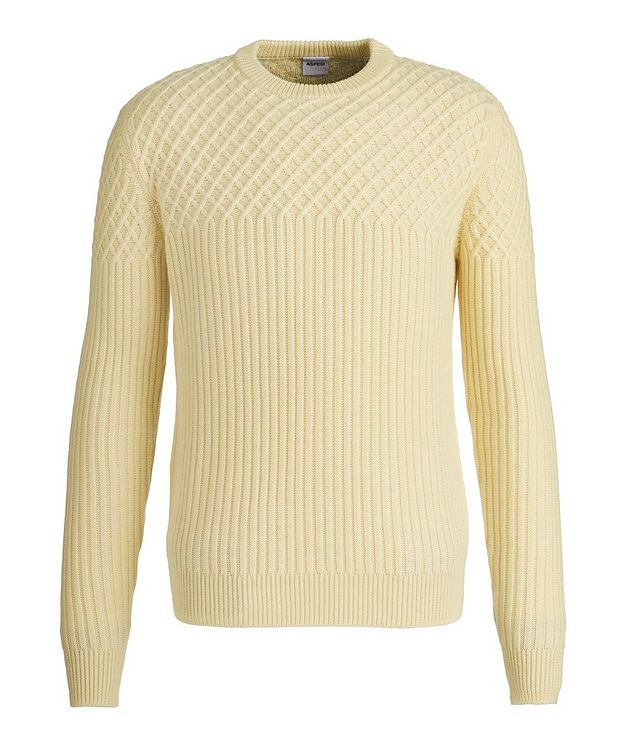 Fisherman's Knit Wool Sweater picture 1