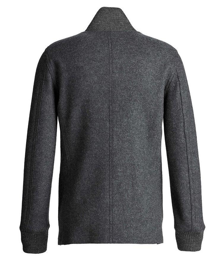 Boiled Wool Cardigan Jacket image 1