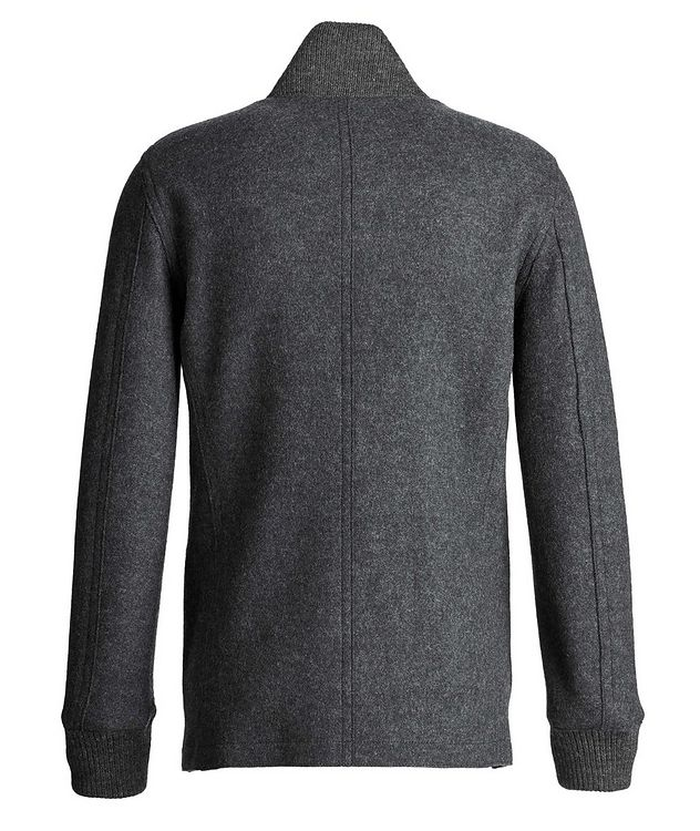 Boiled Wool Cardigan Jacket picture 2
