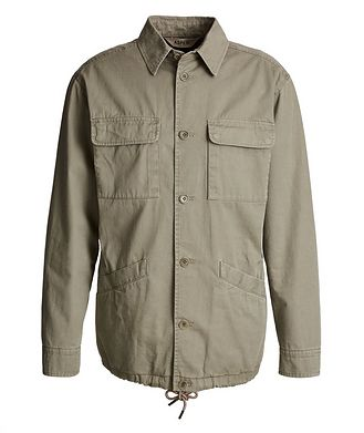 Aspesi Cotton-Wool Field Jacket