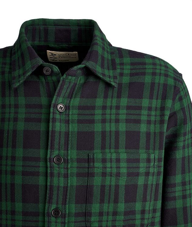 Plaid Cotton Overshirt picture 2