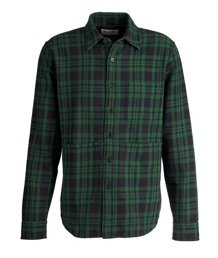 Plaid Cotton Overshirt image 0