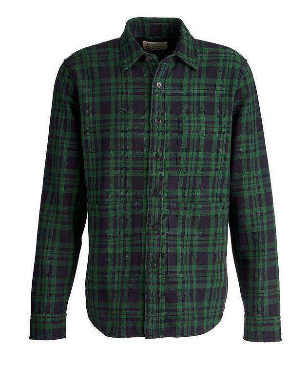 Plaid Cotton Overshirt picture 1
