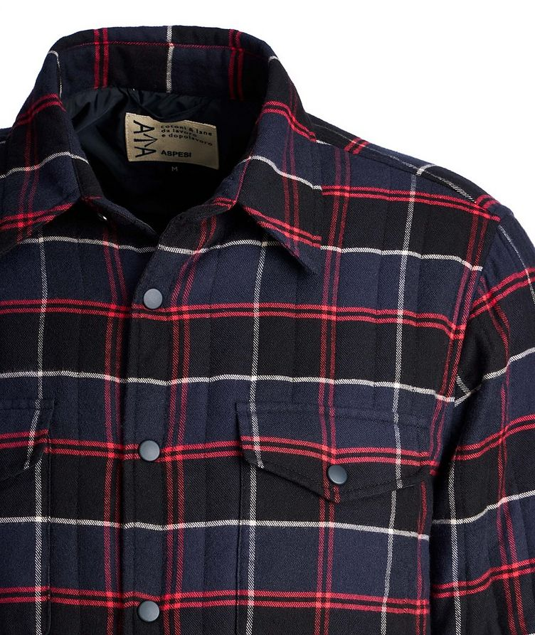 Plaid Shirt Jacket image 2