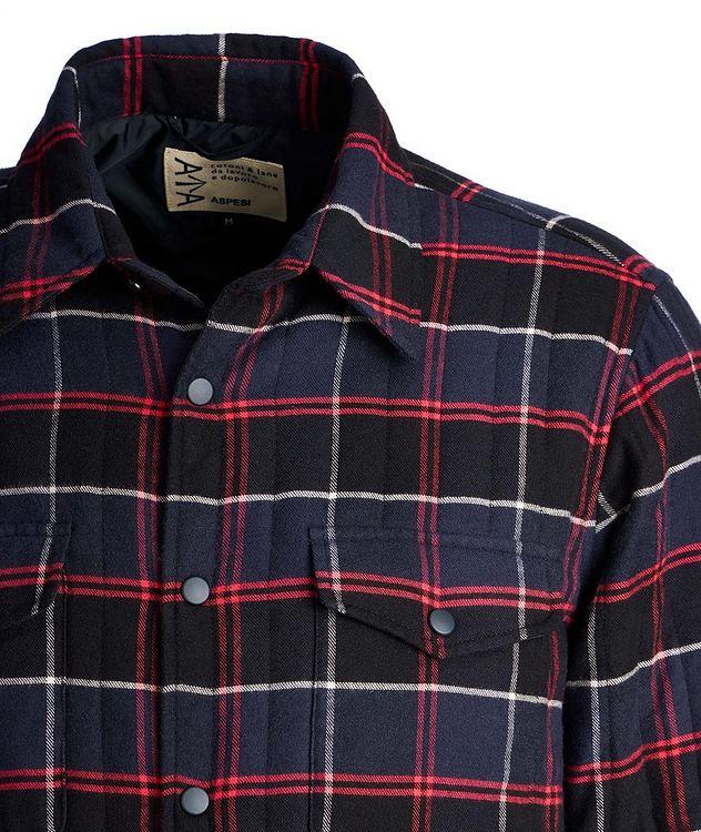 Plaid Shirt Jacket picture 3