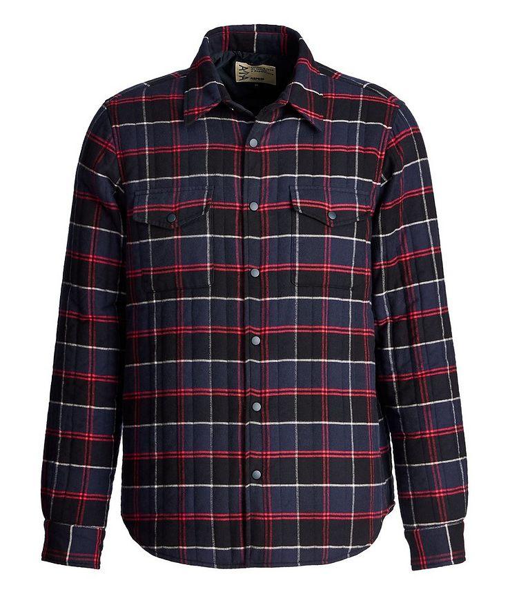 Plaid Shirt Jacket image 0