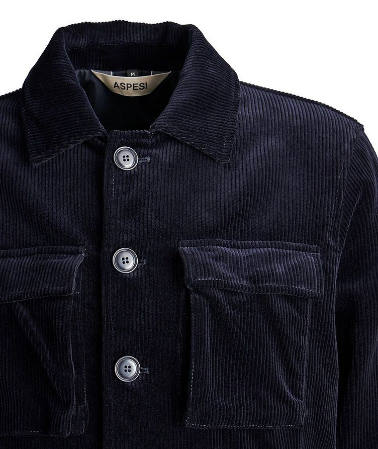 Corduroy Wool-Blend Sports Jacket image 1
