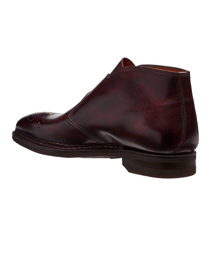 Burnished Leather Boots image 1