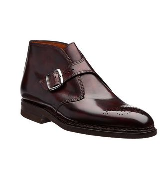 Bontoni Burnished Leather Boots