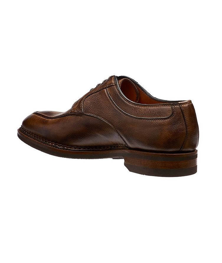 Split-Toe Leather Derbies image 1