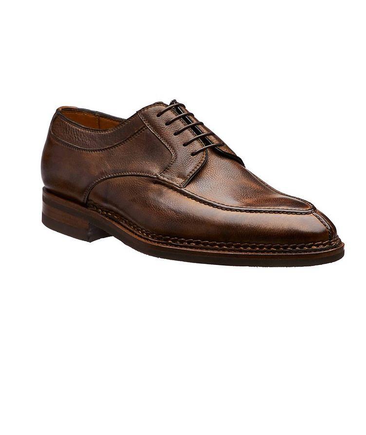 Split-Toe Leather Derbies image 0
