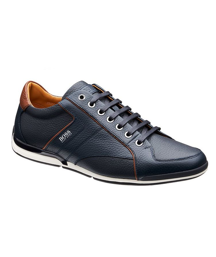 Saturn Leather Sneakers image 0